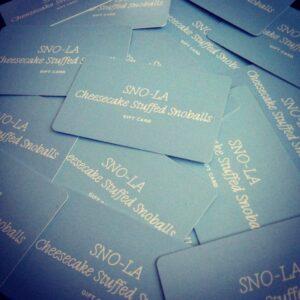 Snoball Gift Card - Snola Gift Card - New Orleans Snowball - Snoball